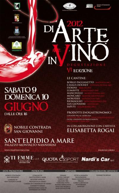 Di arte in vino 2012,cantine marche,vino marche,elisabetta rogai,prodotti tipici marche,degustazione vini,