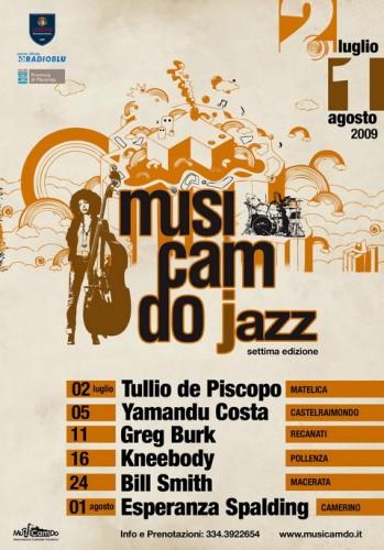 Tullio De Piscopo a Musicamdo Jazz di Matelica