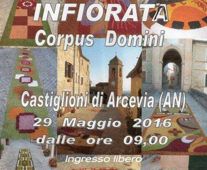 Infiorata Corpus Domini Castiglioni di Arcevia